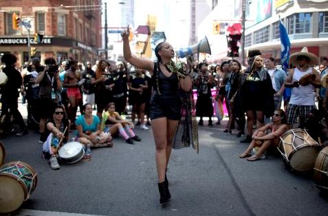 Black Lives Matters Toronto PridePNG