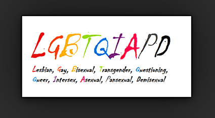 LGBTQIAPDexpialidocious! - GLAAD Makes The Decision All By Itself That We Will Now Be Known As LGBTQ