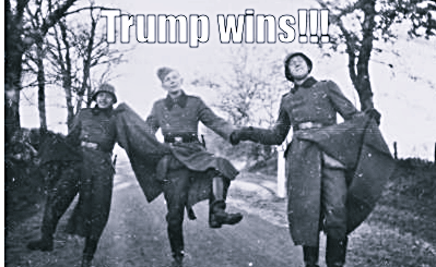 "And So It Begins: Neo-Nazi Website Praises Trump's Victory: ""NOW WE'RE GOING TO GET TO KICK OUT THESE MONKEYS!!!!"""