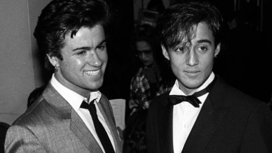 George Michael and Andrew Ridgely found fame with Wham! in the 1980s