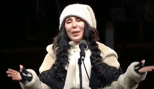 WATCH: Cher's FULL Speech at Anti Trump NYC Protest On Inauguration Eve - Video