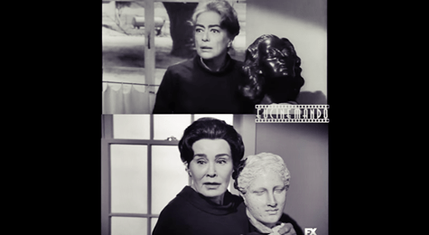 #FEUD – WATCH Joan Crawford vs. Jessica Lang in the STRAITJACKET Trailer [Split Screen Video]