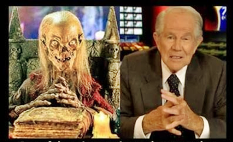 Christian Crypt Keeper Pat Robertson: I Am Being 'Dominated' By 'Homosexuals'