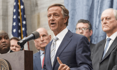 "Tennessee Governor Bill Haslam Signs Anti-LGBT ""Natural and Ordinary"" Bill Into Law"