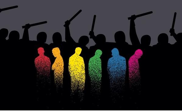 cartoons promote gay