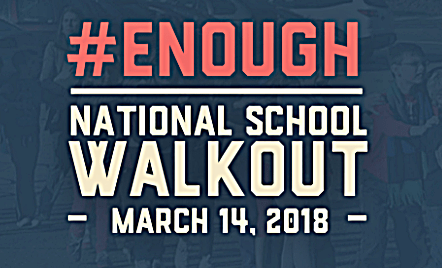 #NationalSchoolWalkout - National School (And Work?) Walkout Planned Over Mass Shootings for March 14, 2018