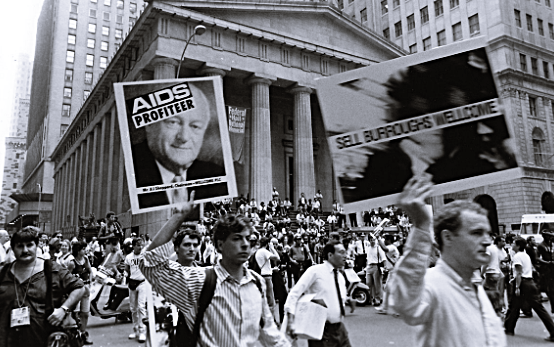 Gay History - March 24, 1987: ACT UP Stages Its First Major Protest In NYC, 17 Arrested - Video