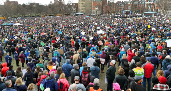 #MarchForYourLives: Millions of Americans March For Stricter Gun Control Laws Across America