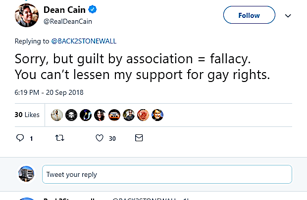 "Dean Cain Slams ""Intolerant' Gays For Being Offended At FRC Hate Group Event"