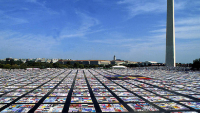 Gay History Month – October 6th: NAMES Project (AIDS) Memorial Quilt