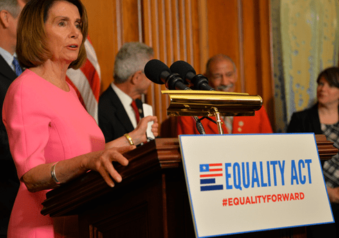 Nancy Pelosi: Democrats Will Introduce LGBT Equality Act Next Week