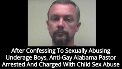 Pastor at Alabama Anti-LGBT Baptist Church Arrested for Molesting Multiple Underage Boy