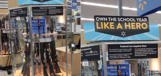 Walmart Will No Longer Allow Open Carry In Stores, Will Stop Selling Ammunition