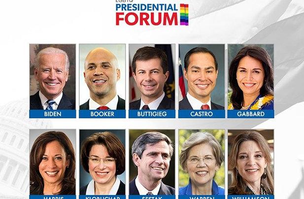 WATCH: The Cringe-worthy GLAAD Iowa Democratic Presidential Candidates Forum [Video]