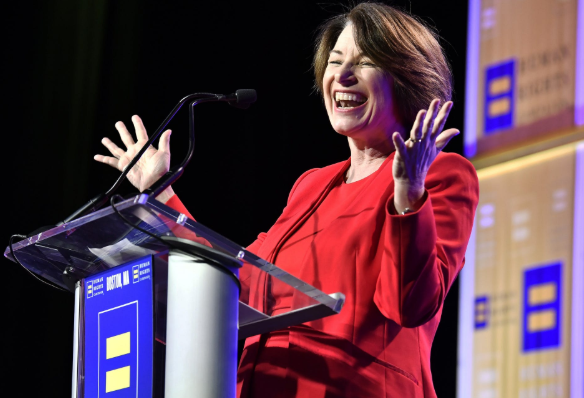Amy Klobuchar Voted For Donald Trump Anti-LGBT Judge Appointment