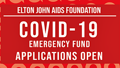 Elton John's AIDS Foundation Starts $1 Millon COVID-19 Emergency Fund