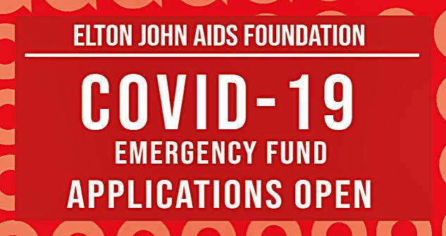 Elton John's AIDS Foundation Starts $1 Millon COVID-19 Emergency Fund