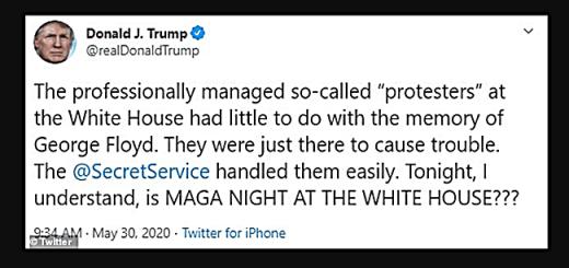 """Donald Trump Denies Instigating Protest Violence: MAGA """"Loves Black People"""""""