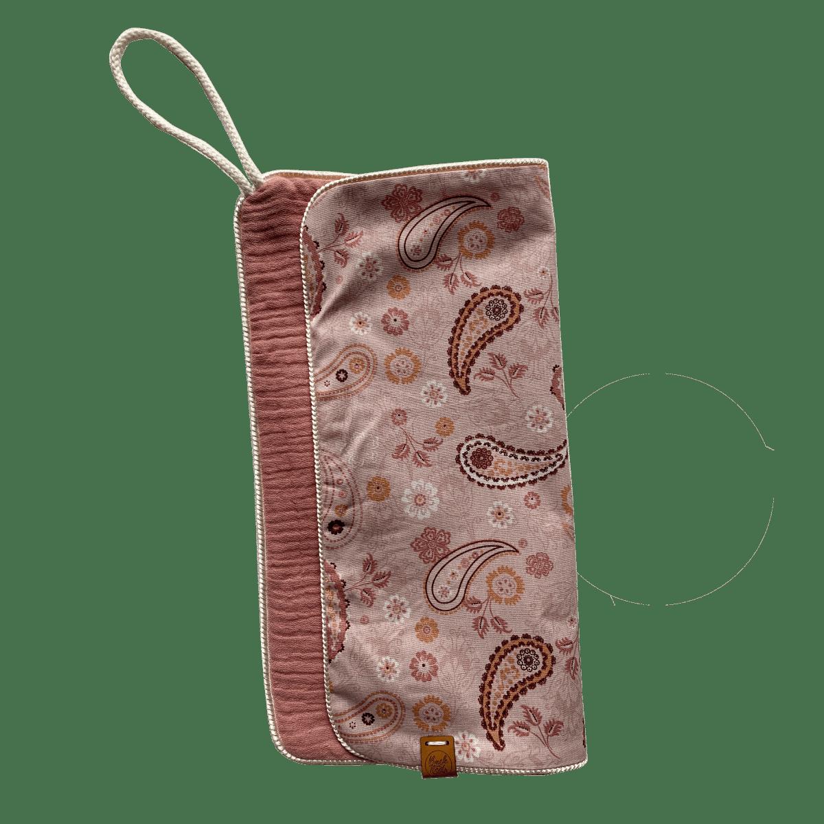 Speendoekje  Paisley – Roze /Hydrofiel Roze