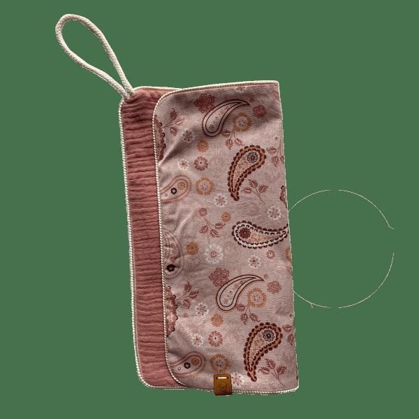speendoekje paisley roze
