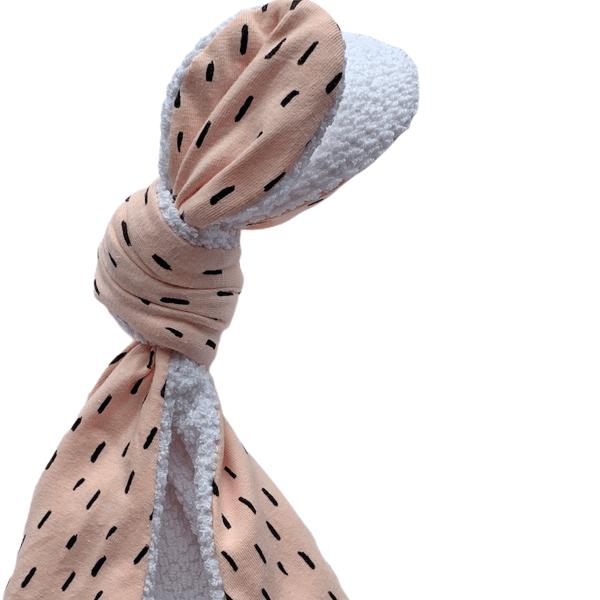 De Doula's Knoopknuffel konijn – Roze