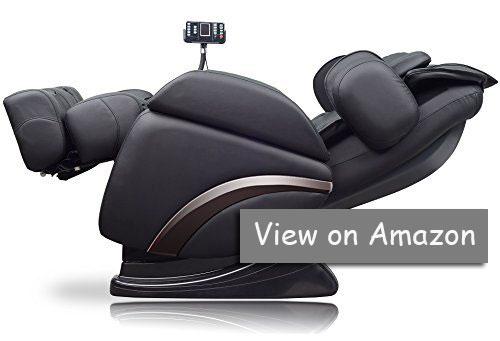 Full Featured Luxury Shiatsu Chair Built in Heat True Zero Gravity Positioning with Deep Tissue Massage