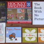 Hockey, young love & books for kids (some with pictures, some without)