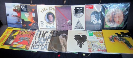 New vinyl restock and additions Aug 28
