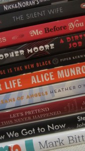Secondhand Books - Sept 2015
