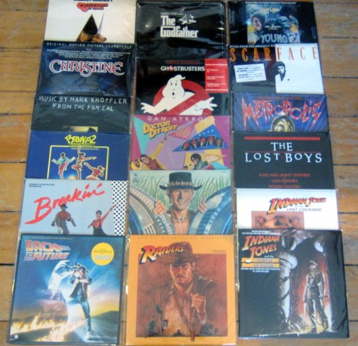 Recent Used Vinyl Soundtracks Sept 25