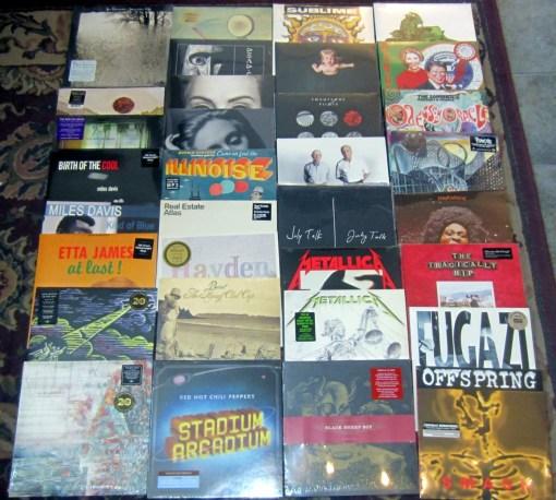 New Vinyl Restocks August 5