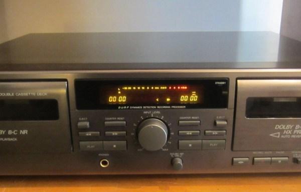 -SOLD- JVC TD-W209 Cassette Deck