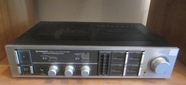 Pioneer SA-950 Amplifier