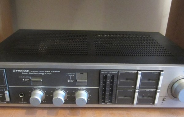 -SOLD- Pioneer SA-950 Amplifier