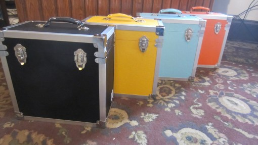 Record Storage Carry Cases