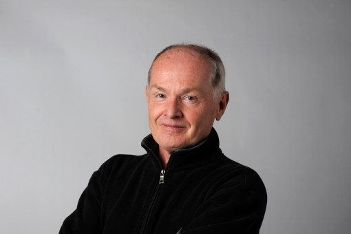 Roy MacGregor, Globe and Mail columnist is photographed in the Toronto studio Oct 1 2010 (Fred Lum / The Globe and Mail) DIGITAL IMAGE