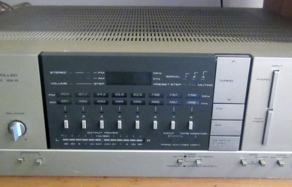 -SOLD- Pioneer SX-6 Receiver