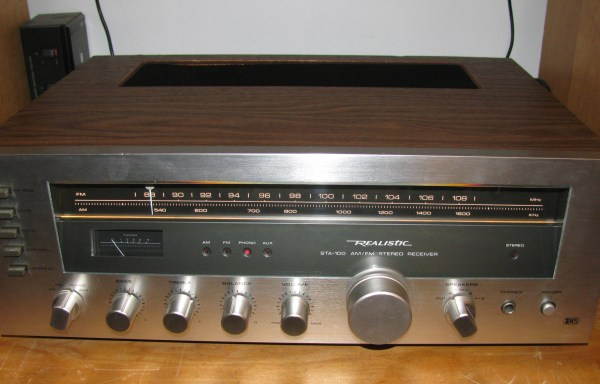 -SOLD- Realistic STA-100 Receiver