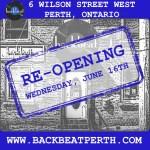 Re-opening Wednesday June 16