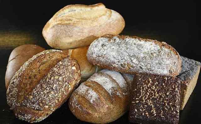 Verschiedenes Brot