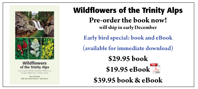 Pre-order Wildflowers of the Trinity Alps