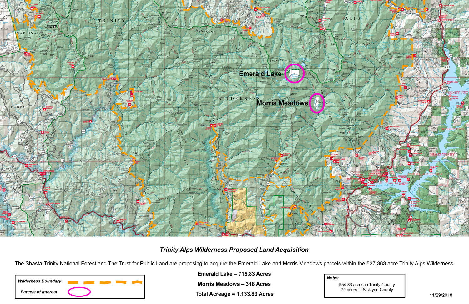 Forest Service seeks to acquire two botanically spectacular parcels ...