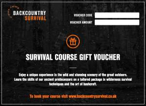 Survival Course Gift Vouchers
