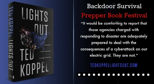 Prepper Book Festival Lights Out | Backdoor Survival
