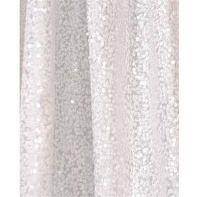 White Sequin Fabric Backdrop Backdrop Express