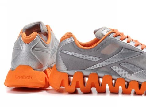shock absorption running shoe