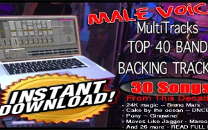 Custom Backing Tracks | Full Sets MultiTrack Ready to go!