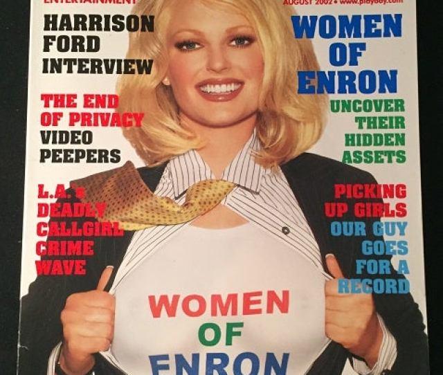 Playboy Magazine August 2002 Harrison Ford Interview Erotica Hugh Hefner Playboy Magazine