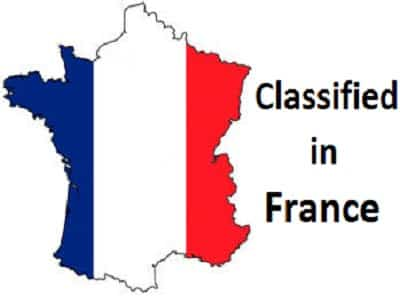 France Classified Sites