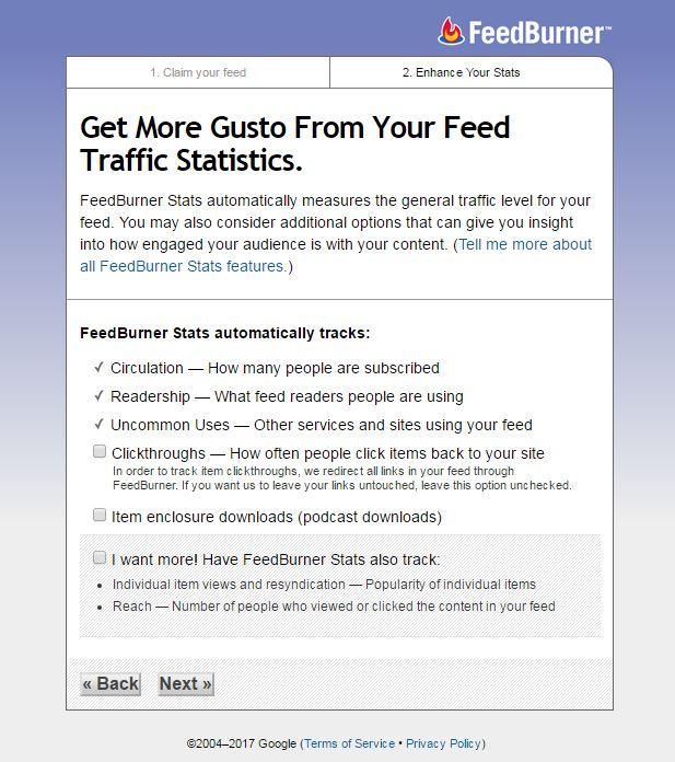 feedburner email subscription form